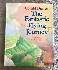 Vintage Book: The Fantastic Flying Journey Gerald Durrell. Stories Kids Retro