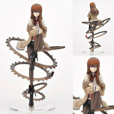 "9"" Steins Gate Makise Kurisu 1/8 Scale PVC Action Figure Collection Model Toy"
