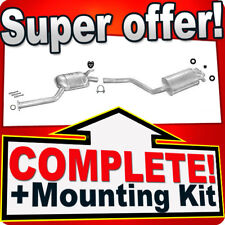 Mercedes 190 W201 2.5 TD Silencer Exhaust System 304