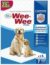 """New listing Four Paws Wee-Wee Puppy Training Standard Size 22"""" x 23"""" Pee Pads for Dogs"""