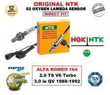 NGK NTK O2 LAMBDA SENSOR for ALFA ROMEO 164 2.0 TS V6 Turbo 3.0 ie QV 1988-1992