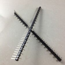 10Pcs 1*40P SMD SMT 1*40Pin 2.54MM Pitch Male Single Row Pin Header Connector