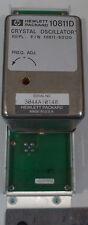 Agilent/HP 10811D Crystal Oscillator 10.000000 MHz #8