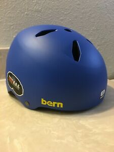 "New Bern ""Team"" Diablo Snow Helmet  Matte Cobalt Blue - size Small"
