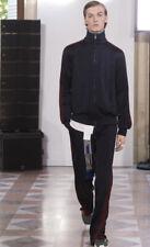 Valentino SS18 Side Stripe Track Pants Navy/Maroon Mens Size 46EU/30US $1150