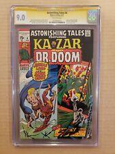 Astonishing Tales #4 CGC 9.0 SS Stan Lee OW Ka-Zar, Doctor Doom