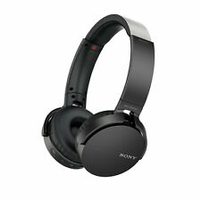 Sony MDR-XB650BT Extra Bass Bluetooth Wireless Headphones NFC  BLACK