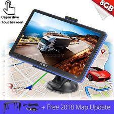 "1X 7"" 8GB Sat Nav 256MB Car & HGV GPS Navigation Free Maps Speedcam Update"