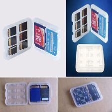 2* Funda 2x8 Micro SD TF SDHC MSPD Estuche Caja Tarjetas Memoria Almacenamiento