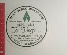 Aufkleber/Sticker: Haaksbergen Veldmaat Jen Hagen bv (06011786)