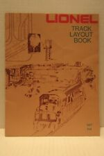 "Lionel Track Layout Book ""027"" 1975 Catalogue Guide Railroads Model Trains"