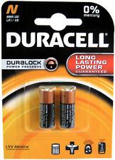BLISTER de 2 Piles DURACELL N / MN9100 / LR1 /  E90 / N LADY - 1,5V DLC 2021