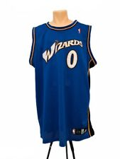 New listing GILBERT ARENAS WASHINGTON WIZARDS Swingman Jersey Adidas Blue XXL Men Sewn Zero