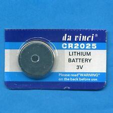 2 x CR2025 2025 DL2025 3V da vinci Lithium Coin Cell Batteries