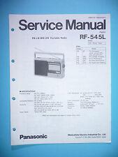 Service Manual-Anleitung für Panasonic RF-545L ,ORIGINAL