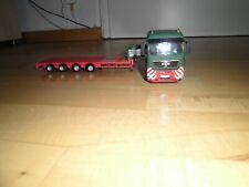 LKW MAN Zugmaschiene mit Schwerlasttrailer 1:50 Metall
