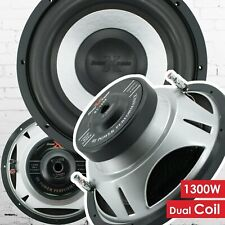 New Soundxtreme 12 Inch 1300 Watts Car Audio Subwoofer with DVC Power - 1 SUB