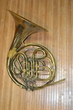 Conn Elkhart French Horn Parts or Repair Untested 1952 1953 Serial Number 412XXX