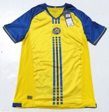 Maccabi Tel Aviv FC Home Soccer Futbol Embroidered Jersey Small New w/tag