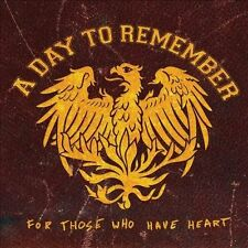 A DAY TO REMEMBER - FOR THOSE WHO HAVE HEART NEW VINYL RECORD