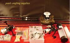Carp Fishing 2 Rods Reels Mat Scales PVA Tackle Set 6