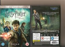 HARRY POTTER AND THE DEATHLY HALLOWS PART 2 DVD INCLUDES SLIPCASE 2 DISC SET