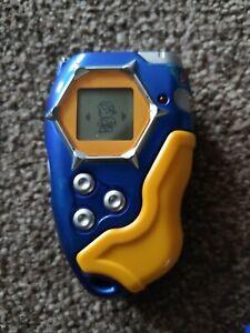 Blue & Yellow Digimon D-Tector Digivice Bandai 2002 working used