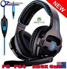 SADES Sa-810 Multi Platform Gaming Headset Mic Chat Black Xbox One Ps4 PC