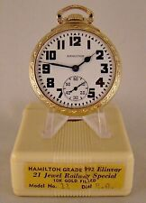 Filled Open Face 16s Railroad Pocket Watch New listing