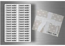 Lot 128 Autocollant sticker scrapbooking DIY handmade with love emballage bijoux
