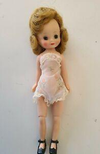 "Vintage 8"" Betsy McCall Doll in Original Underwear & Shoes, Blonde w Barrette"