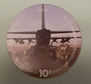 5H10  AAFES Pog  2004 U.S. ARMY Money  About  Uncirculation Condition