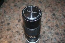 Canon FD Manual Focus Zoom Camera Lens 1:5.6 100-200mm