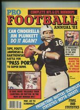 Pro Football Annual 81 Bills Colts Dolphins Jets Patriots Browns Oilers   MBX41