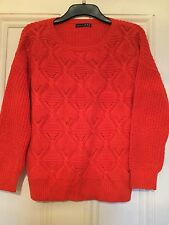 ATMOSPHERE,A lovely  Ladies Coral Knit  Jumper, size 12