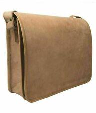 Leather bag Men Shoulder S Messenger Satchel Laptop Handbag Briefcase Business