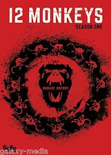 12 Monkeys First Season 1 One DVD (2016 3-Disc) Aaron Stanford, SyFy