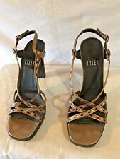 Vintage Richard Tyler Women Shoes Size 8 Made In Italy
