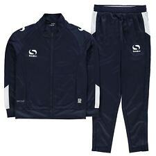 Sondico Kids Strike Tracksuit Long Sleeve High Neck Zip Warm Sports Training