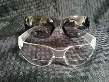 Bifocal Eyeglasses Readers Clear or Smoked Lenses Frame Safety Goggles