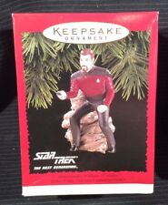 Hallmark Ornament Star Trek Commander William T. Riker 1996 NEW ST6