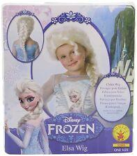 Perruque Elsa Frozen La reine des Neiges(TM) fille - Taille Unique