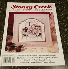 Stoney Creek Collection Magazine Cross Stitch Pattern Nov / Dec 1993