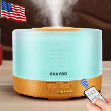 500ml Ultrasonic Humidifier Essential Oil Diffuser Aromatherapy+Remote Control