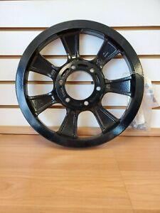 Kawasaki Vulcan 1700 Drive Belt Pulley-Black-49079-0018
