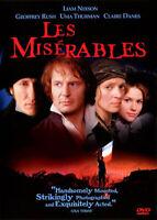Les Miserables (1998 Liam Neeson) DVD NEW