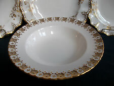 ROYAL CROWN DERBY- HERALDIC GOLD (c.1971)- SOUP PLATE(S)- EXCELLENT! RARE! GILT!