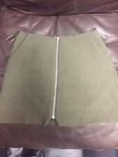 Top Shop Mini Skirt 8 Used Vgc Green