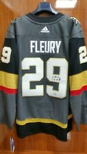 Vegas Golden Knights adidas Authentic Custom Jersey Gray XXL Fleury