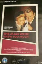 THE MAN WHO KNEW TOO MUCH - Hitchcock Slimcase - DVD **NEW SEALED** FREE POST**